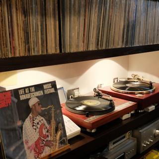 アナログレコードで楽しむJAZZ&ROCK♪