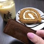 プリン本舗 - 料理写真:侍プリンと、侍ロール、侍のフィナンシェ