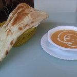 ルチ - バターチキンカレーとナン