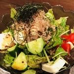 魚里ゐ夷 - 10品目サラダ