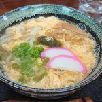 うどん 春日 - 料理写真:たまごうどん @500
