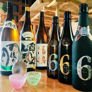 ソムリエ厳選の日本酒がお食事の席を彩ります♪