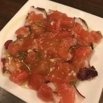95733919 - たことトマトと青唐辛子のマリネ