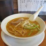 らーめん 北の丸 - 料理写真:味噌らーめん(開店記念価格 540円)