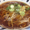 天亀そば - 料理写真:かけそば(石臼挽き蕎麦粉で)