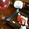 看板のない隠れ家Restaurant 足跡 - 料理写真:国産牛のステーキ〜赤ワインソース〜 当店は牛、豚、鶏肉は国産です。
