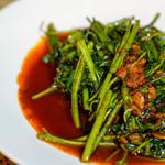 馬来風光美食 - 空芯菜