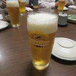魚屋 魚八 - 生ビール