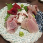 魚屋 魚八 - 刺し盛り