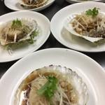 廣東DINING TAKU - ホタテのガーリック蒸し