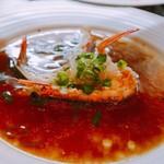 廣東DINING TAKU - 海老のガーリック蒸し