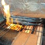 創作料理 菜 - サンマの塩焼き