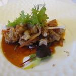 香港1997 - 国産赤鶏と旬の野菜の油淋鶏