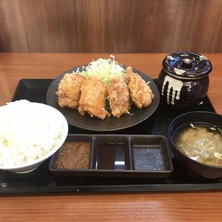 からやま さいたま東大宮店 - からやま定食。 美味し。