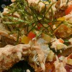 活魚水産 - やわらかワタリガニサラダ