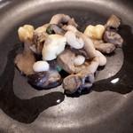 95748255 - キノコと白いんげん豆のニョッキトリュフ風味