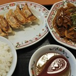 餃子の王将 - 18/10 ホルモンセット:972円(税込)