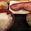 酒処 つがる - 料理写真:ベーコンステーキ定食(1枚)