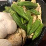日本酒chintara 燻ト肉 - その他写真:大田市場から秋の味覚④