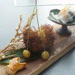 遊膳 グレビー - 【秋の大皿会席コース】季節の前菜盛り(自慢の一品)