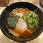 つけ麺 京都わたなべ - 海老だしラーメン(並)