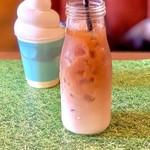 生クリーム専門店MILK CAFE - 牛乳屋さんのミルクコーヒー(550円)