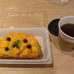 95753055 - ソレイユタルティーヌと紅茶