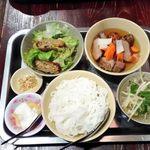 95754637 - 混ぜ混ぜ麺ランチセット