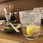 米とサーカス - レモンサワー