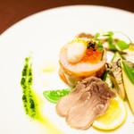 京の野菜とジビエの町家レストラン むすびの - 鮮度の良い旬の素材を使ったオードブル