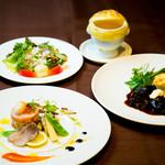 京の野菜とジビエの町家レストラン むすびの - むすびのディナーAコース