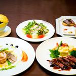 京の野菜とジビエの町家レストラン むすびの - むすびのディナーBコース