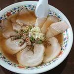 らーめん浦咲 - 料理写真:三味チャーシュー麺 大盛