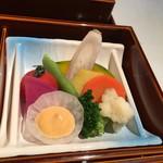 ザ・ウィンザーホテル洞爺リゾート&スパ - 生野菜