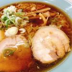 食道楽 - 料理写真:醤油ラーメン