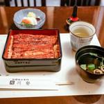 うなぎ川勢 - ■極上鰻重 6480円