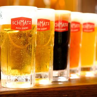 ドイツの製法にこだわったフレッシュなオリジナルクラフトビール