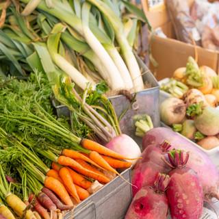 野菜による四季