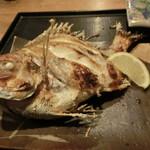 松ノ木 - タイの塩焼きアップ