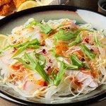 もつ鍋 清水 - 鮮魚のカルパッチョ