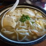 かめ - ゆし豆腐そば