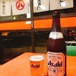武井食堂 - ビール中瓶   540円