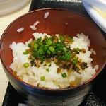 リンガーハット - ピリ辛ご飯