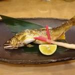 和の食彩 古城 - 鮎塩焼き 650円