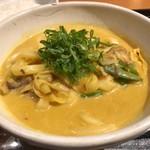 カレーうどん 千吉 - 料理写真:千吉カレーうどん 700円。