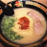 一蘭 - 料理写真:天然とんこつラーメン