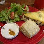 ミカグランドカフェ - 料理写真:キッシュプレート