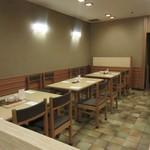 和食 や彦 - 朝7時の営業開始と同時にお伺いしたので一番乗り、それでも30分後には店内はほぼ満席になってました。