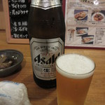 さえ丸おじさんの店 - 瓶ビール(中瓶) 600円
