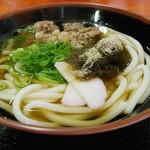 丸忠 - 肉うどん[¥600]